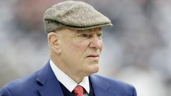 HOUSTON, TX - JANUARY 07:  Houston Texans owner Bob McNair walks on the field before his team plays the Oakland Raiders in the AFC Wild Card game at NRG Stadium on January 7, 2017 in Houston, Texas.  (Photo by Thomas B. Shea/Getty Images)