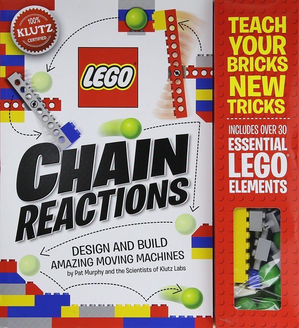 """Design and build 10 amazing <a href=""""https://www.amazon.com/Klutz-LEGO-Chain-Reactions-Craft/dp/0545703301?tag=thehuffingtop-"""