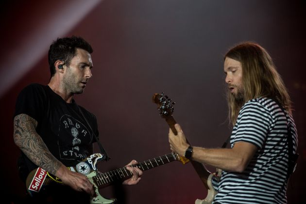 Maroon 5 Guitarist Clears Up Confusion Over 'Red Pill Blues' Album