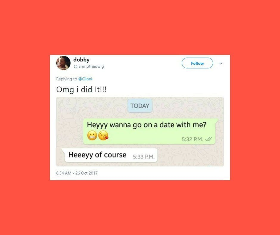 Women On Twitter Are Sharing What Happens When They Ask Crushes Out On A