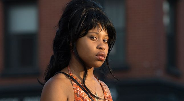 """Dominique Fishback plays Darlene in HBO's """"The Deuce."""""""