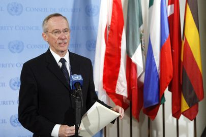 Edmond Mulet, head of the Joint Investigative Mechanism (JIM), probing Syria's chemical weapons