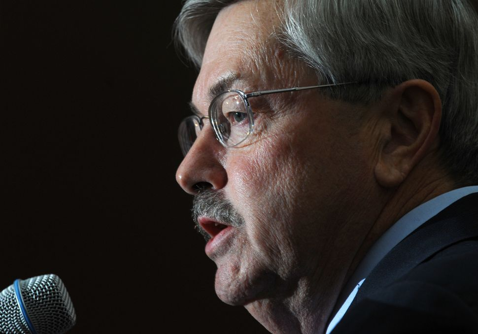 Terry Branstad, the former Republican governor who stepped down this year to become ambassador to China, was openly hostile t