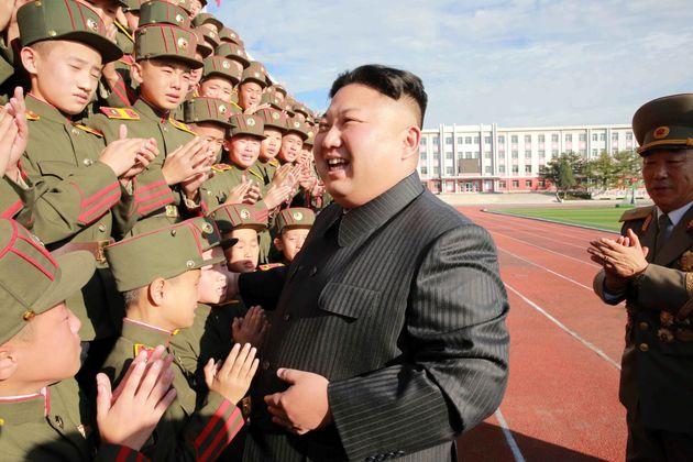 North Korea's leader Kim Jong