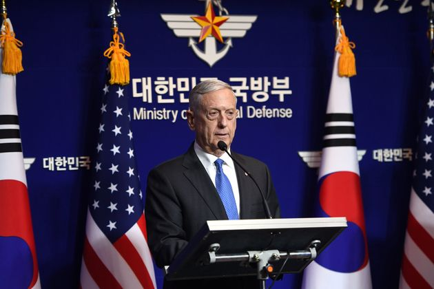 US Defence Secretary Jim Mattis has said that the threat of nuclear attack from North Korea is