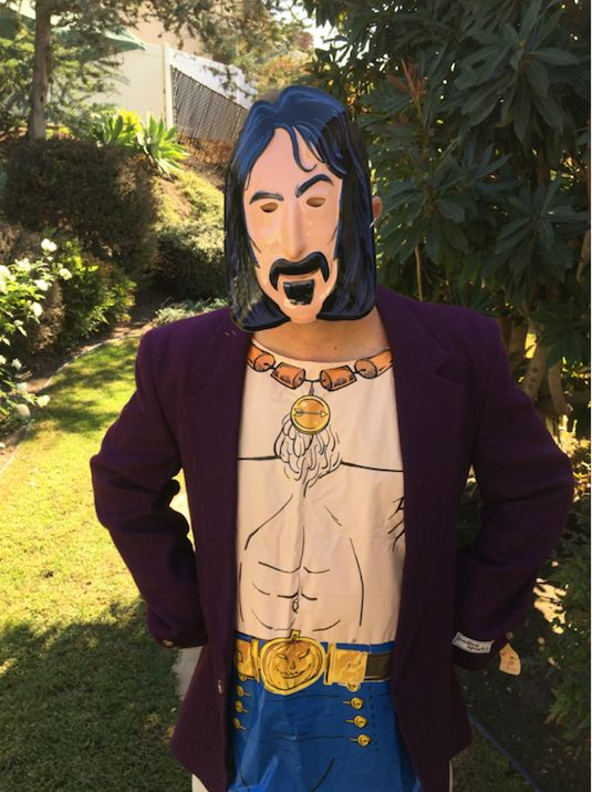 "Sure, Frank Zappa made great music, but he also makes for a great costume. This <a href=""http://hifi247.com/halloween-77-box-"