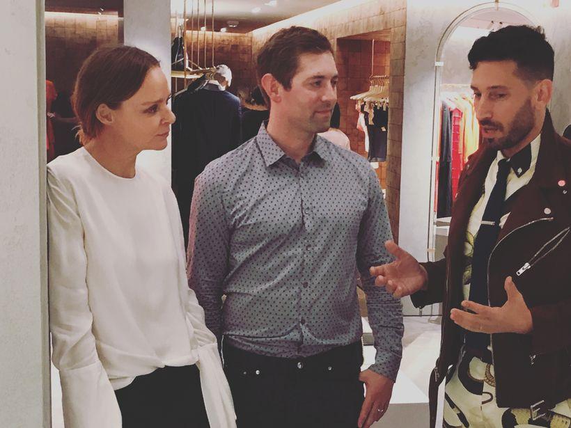 Conversing with Stella McCartney and Dan Widmaier, CEO of Bolt Threads