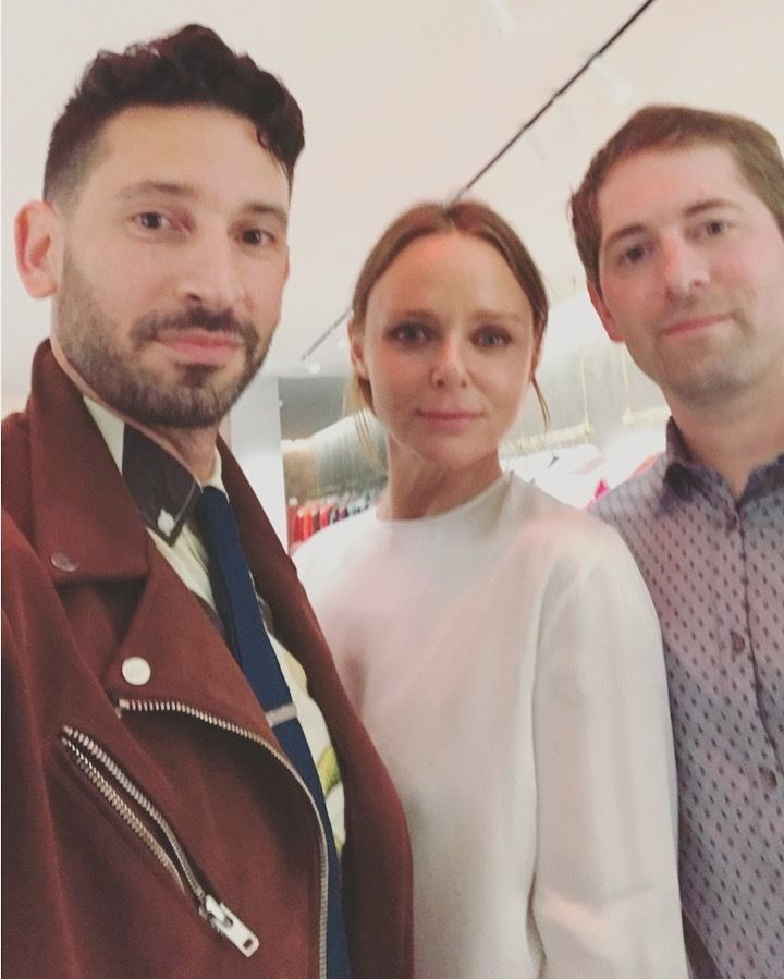 Joshua Katcher, Stella McCartney & Dan Widmaier