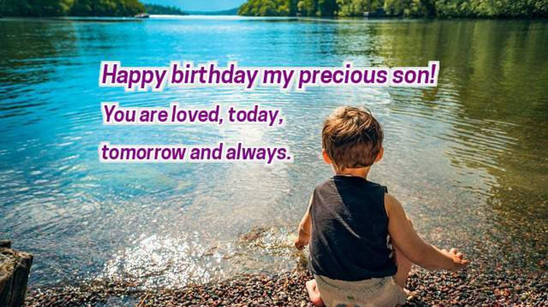 Surprising 35 Birthday Wishes For Daughters And Sons Birthday Messages Personalised Birthday Cards Beptaeletsinfo