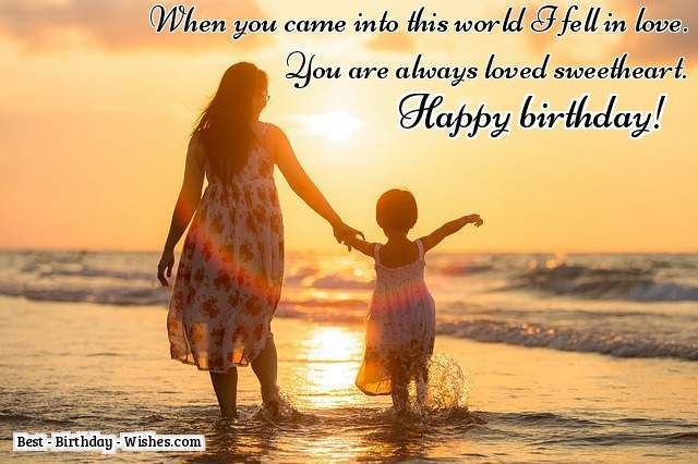 35 Birthday Wishes for Daughters and Sons - Birthday