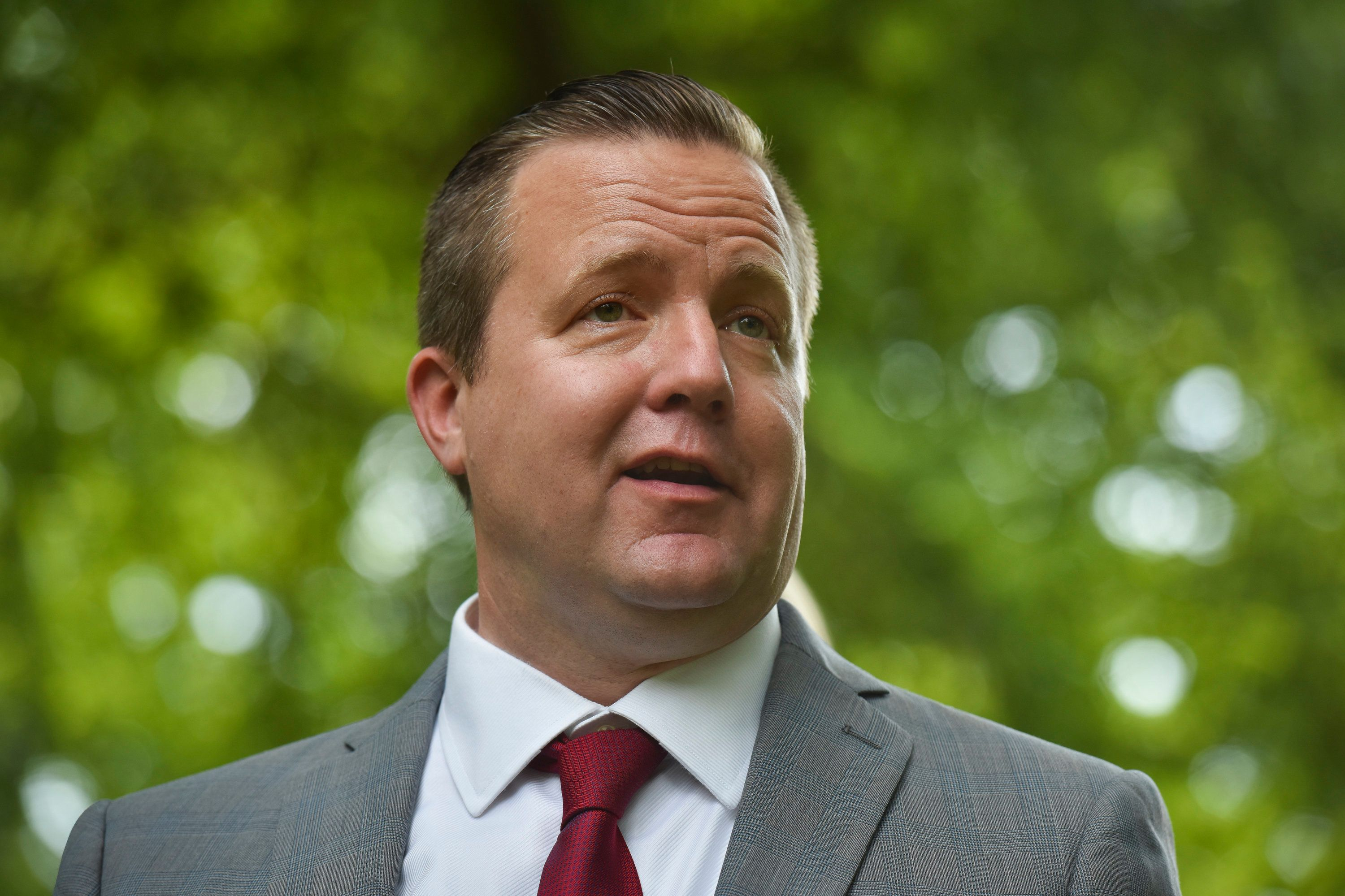 Corey Stewart has a bad attitude about Democrats