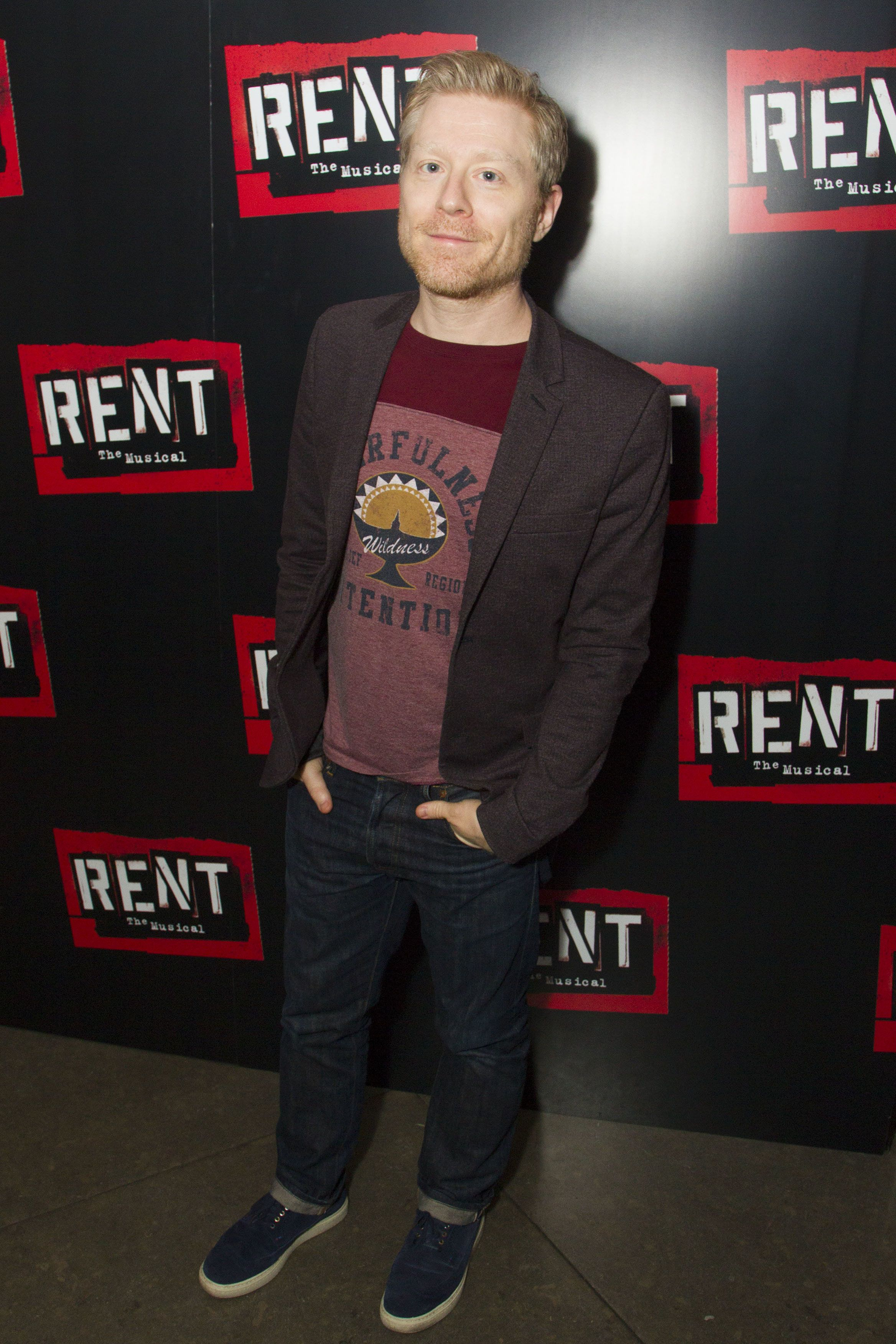 <strong>'Rent' actor Anthony Rapp</strong>