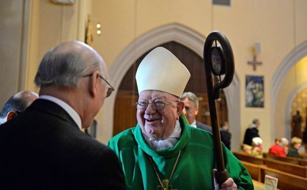 Former Bishop William Murphy of the Rockville Centre Diocese.