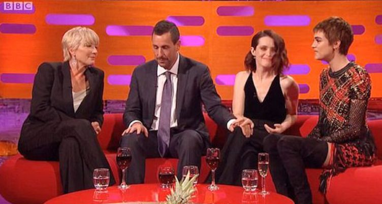 Claire Foy's Spokesperson Addresses Backlash Over Adam Sandler's 'Graham Norton Show'