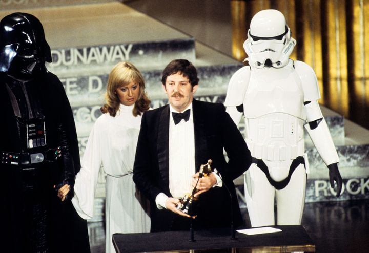 John Mollo at the 50th annual Academy Awards in 1978.