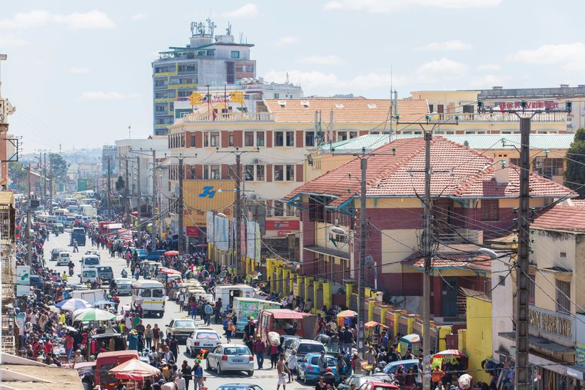 Antananarivo is one of the fastest growing cities in Africa.