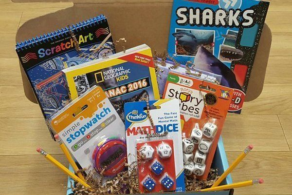"""<a href=""""https://www.cratejoy.com/subscription-box/myeducrate/"""" target=""""_blank"""">MyEduCrate</a> delivers educational themed it"""