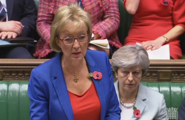 Theresa May 'Not Covering Up' Allegations Of Sexual Harassment By Tory MPs, Says Andrea