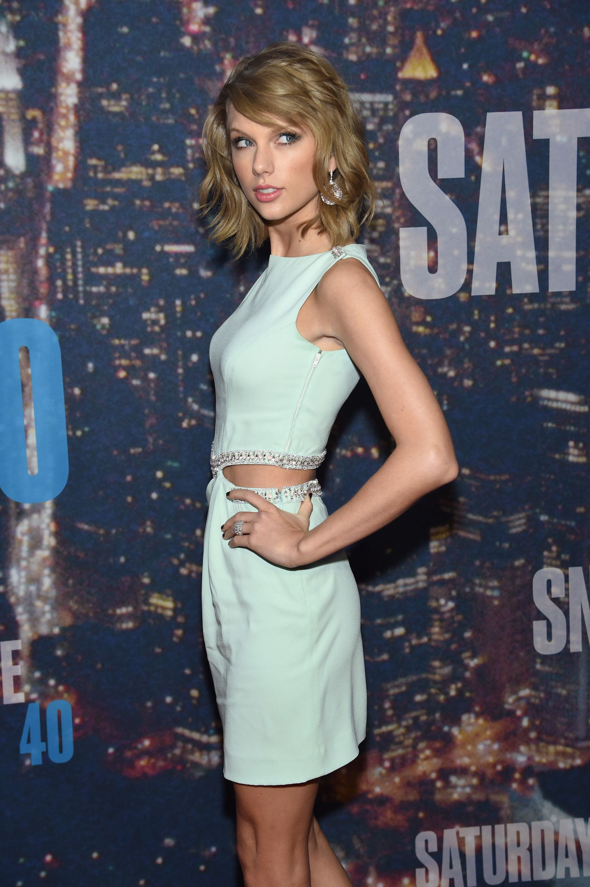 Taylor Swift attends the SNL 40th Anniversary Special in 2015.