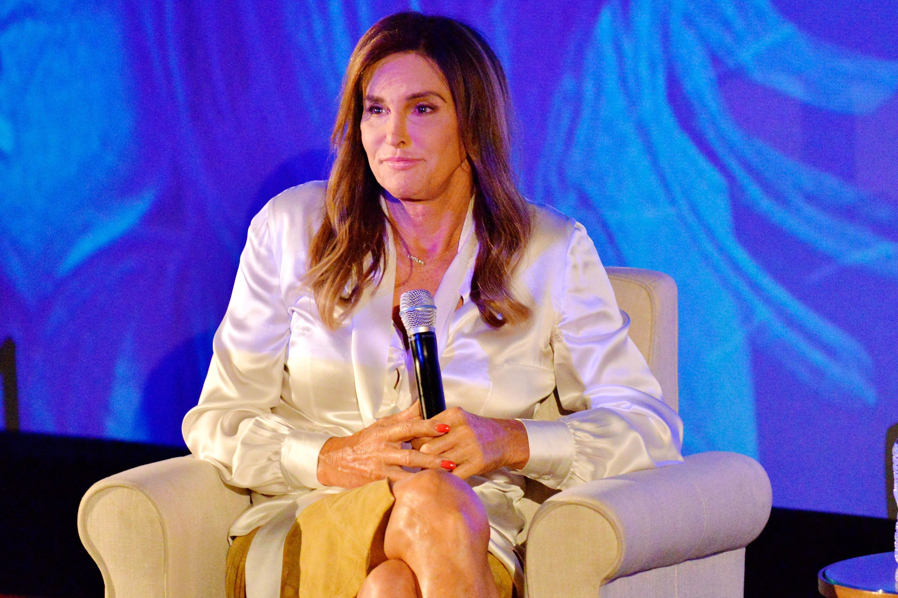 LOS ANGELES, CA - AUGUST 01:  Television personality Caitlyn Jenner attends WORLDZ Cultural Marketing Summit at Hollywood and Highland on August 1, 2017 in Los Angeles, California.  (Photo by Jerod Harris/Getty Images for PTTOW!)