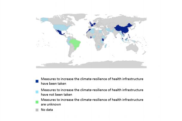 The U.S. is among the countries that have not taken measures toimprove health infrastructure to deal with the influx of climate-related maladies.