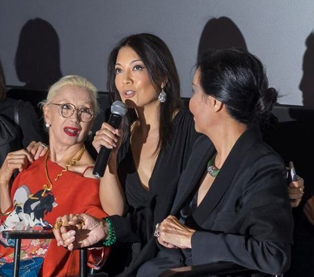 France Nuyen, Ming-Na Wen, and Kieu Chinh