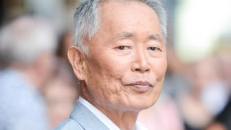 NEW YORK, NY - SEPTEMBER 08:  Actor George Takei leaves 'The Late Show With Stephen Colbert' taping at the Ed Sullivan Theater on September 08, 2016 in New York City.  (Photo by Ray Tamarra/GC Images)