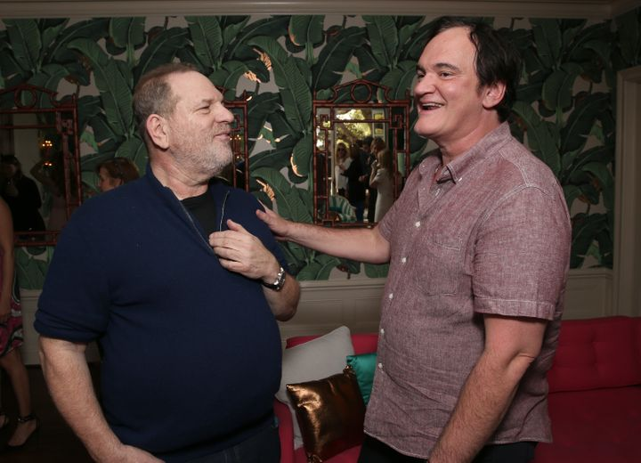 Harvey Weinstein and Quentin Tarantino in 2016.