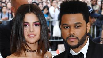 NEW YORK, NY - MAY 01:  Selena Gomez (L) and The Weeknd attend 'Rei Kawakubo/Comme des Garcons: Art Of The In-Between' Costume Institute Gala at Metropolitan Museum of Art on May 1, 2017 in New York City.  (Photo by Karwai Tang/WireImage)