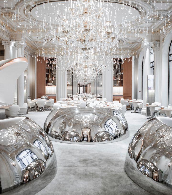<p>The stunning Alain Ducasse Restaurant </p>