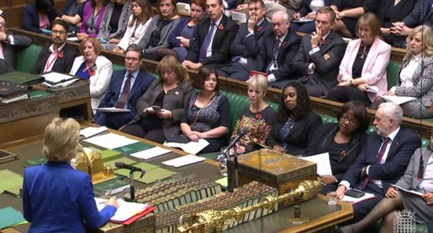 Labour benches crammed with women