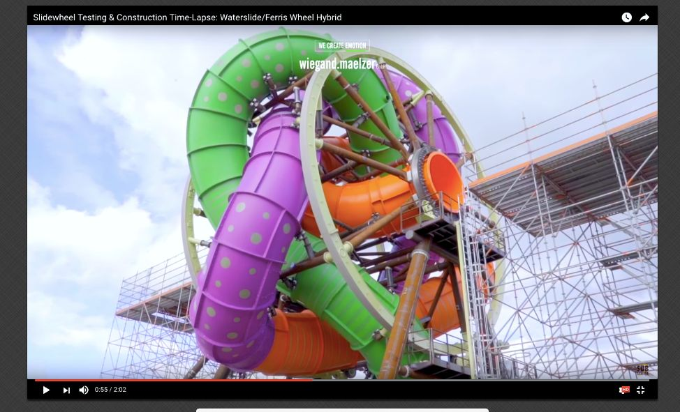 This Twisted, Spinning Waterslide Is Not For The Faint Of