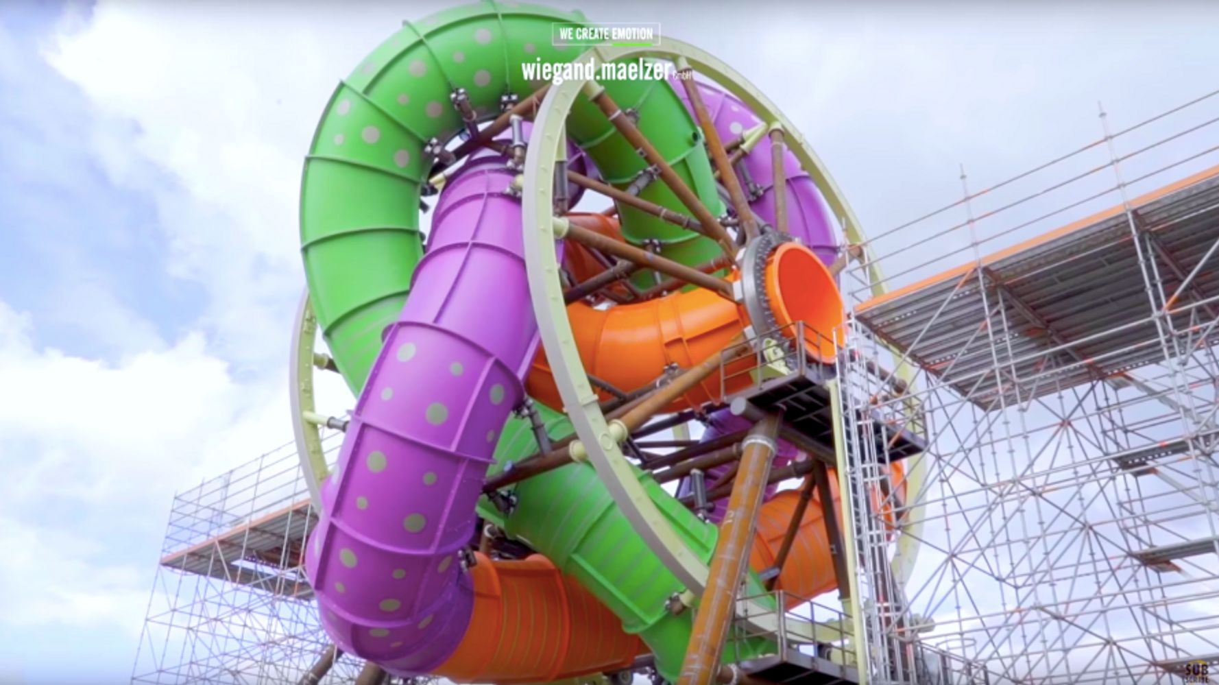 This Twisted, Spinning Waterslide Is Not For The Faint Of Heart