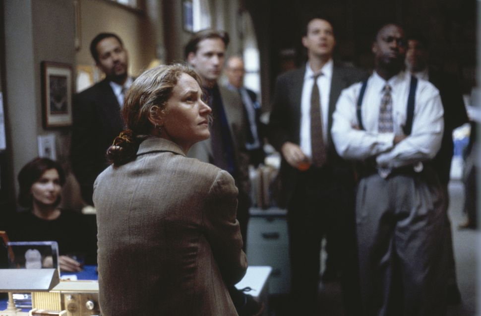 "Melissa Leo stars in ""Homicide: Live on the Street,"" portraying Det. Kay Howard."