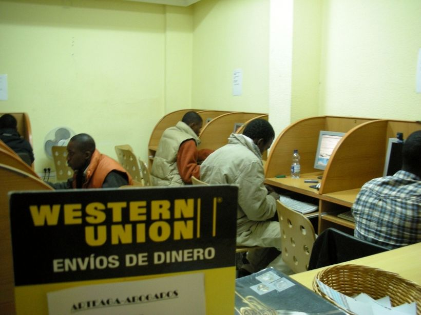 Workers sending home money home via Western Union, which can charge up to 15% of the transferred funds