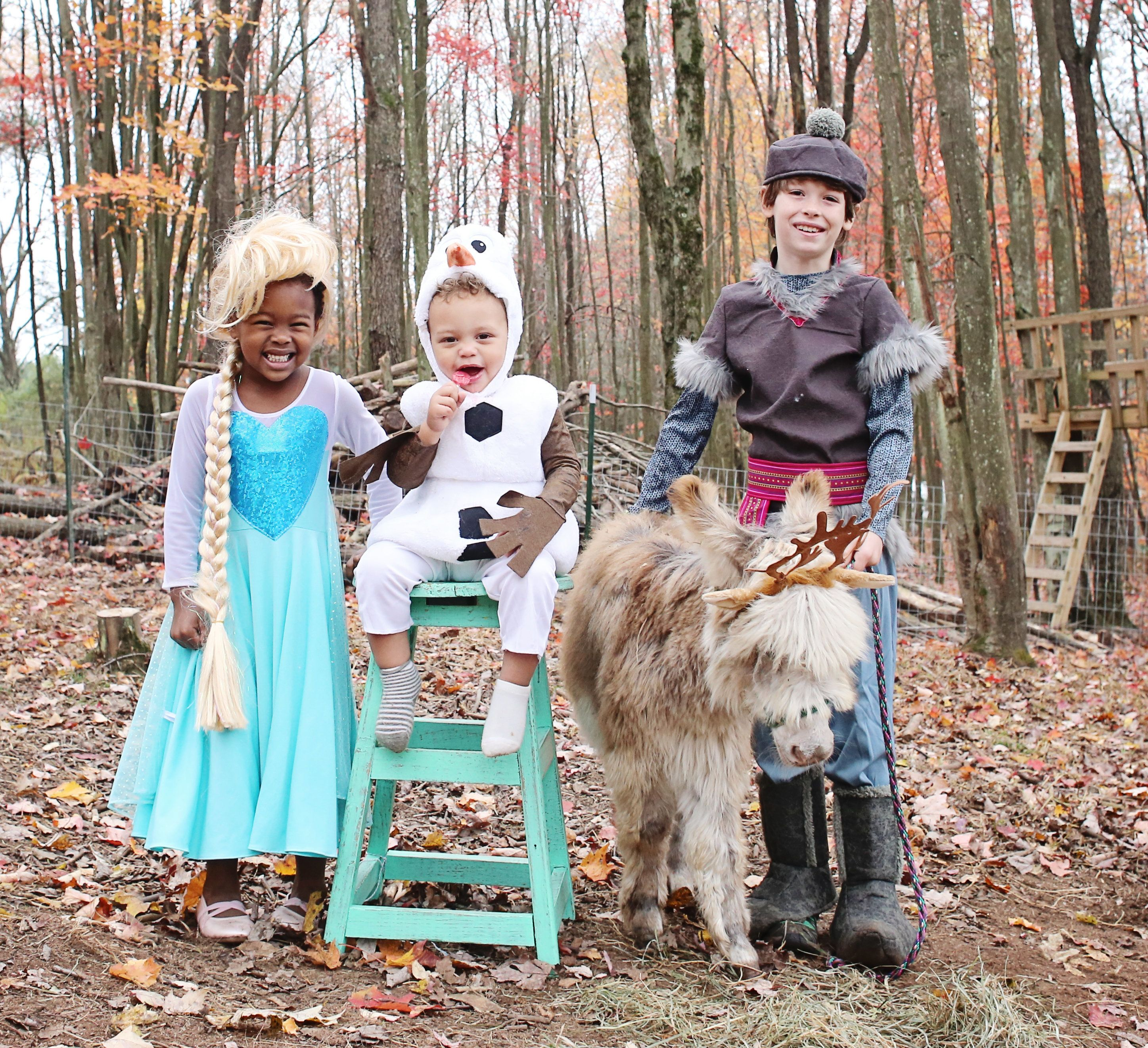 """Bonnice photographs her children's Halloween dress-up adventures with their animal friends for an Instagram series she calls<a href=""""https://www.instagram.com/explore/tags/sweetfluffdressup/"""" target=""""_blank"""">#SweetFluffDressUp</a>."""