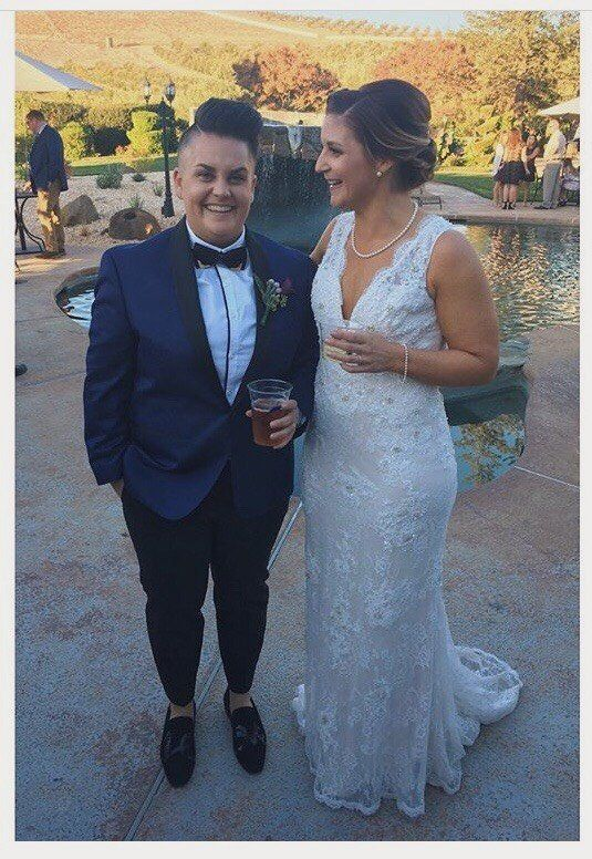 """My wife and I just got married on Oct. 21 in Livermore, California. We were planning on getting married in Napa and just 10"