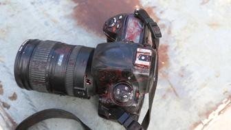 ATTENTION EDITORS - VISUALS COVERAGE OF SCENES OF DEATH OR INJURY - The blood stained camera of a photojournalist is seen after a secondary explosion in front of Dayah hotel in Somalia's capital Mogadishu, January 25, 2017. REUTERS/Feisal Omar