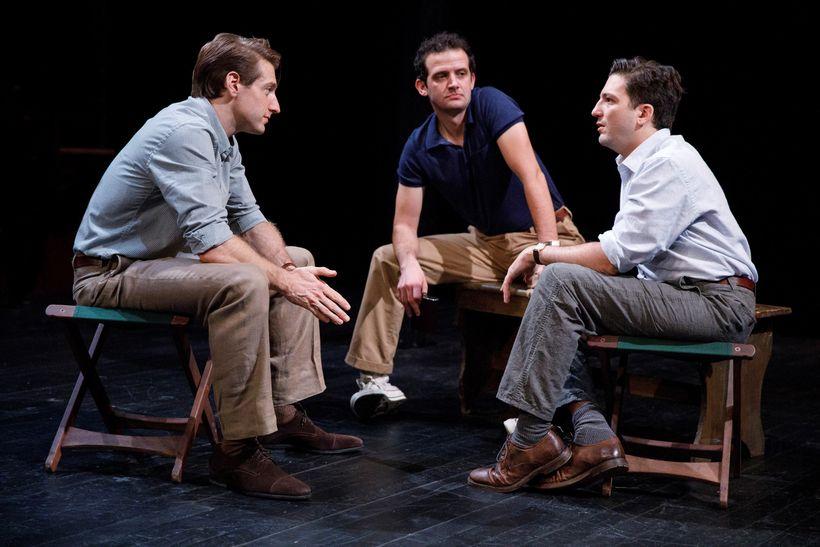 Fran Kranz, Will Brill and John Magaro in Richard Nelson's <em>Illyria</em>