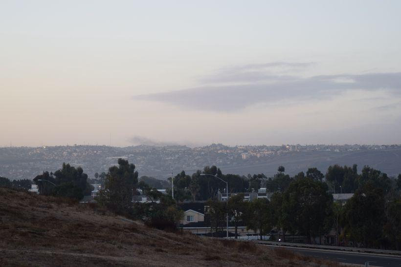 View of Tijuana from San Diego.