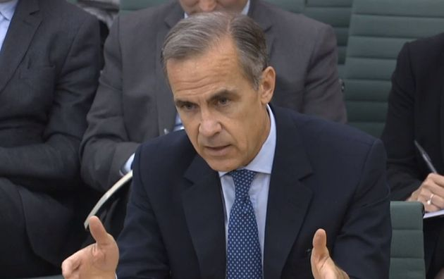Governor Mark Carney has previously warned Brexit will hit wages and the Bank