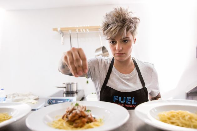 Jack Monroe is working with npower to raise awareness of the devastating choice between 'heat or...