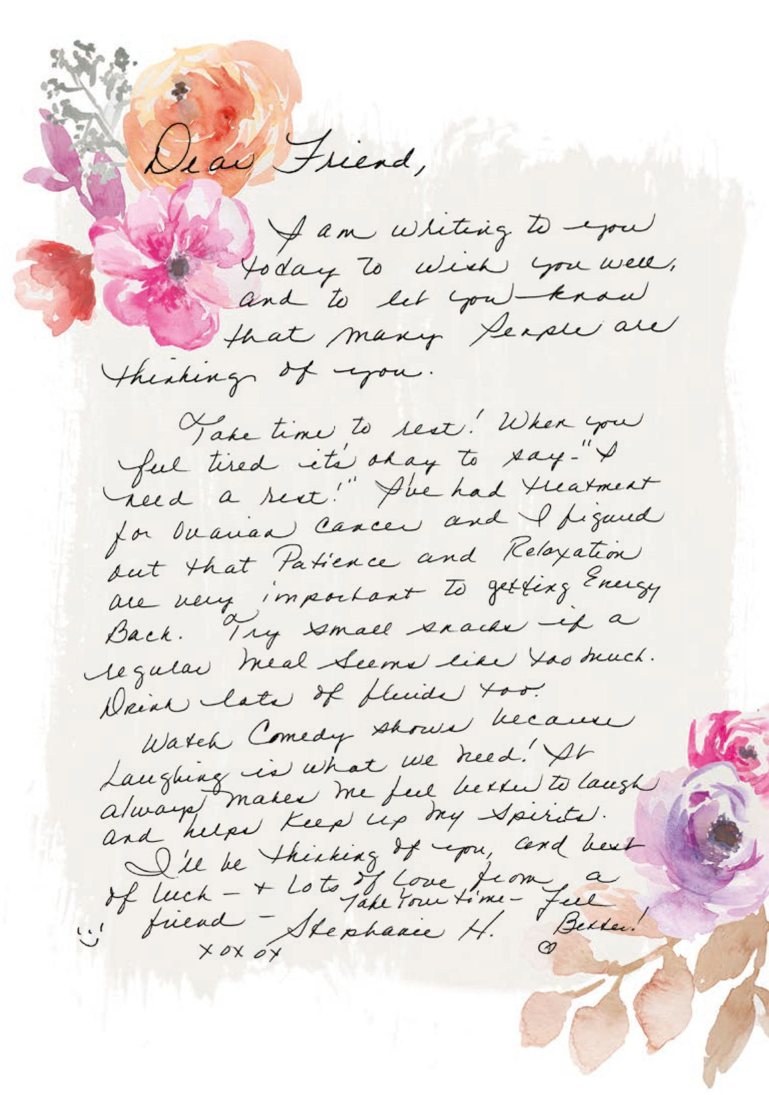 Cancer Survivor Collects 80,000 Handwritten Letters Of Love For Other Women With Breast