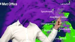 Weather Forecaster Loses His Head During Halloween