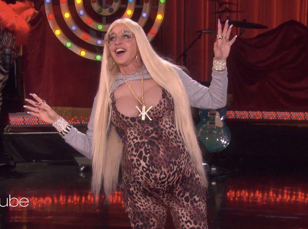 Ellen Slays Halloween As The Lost Kardashian