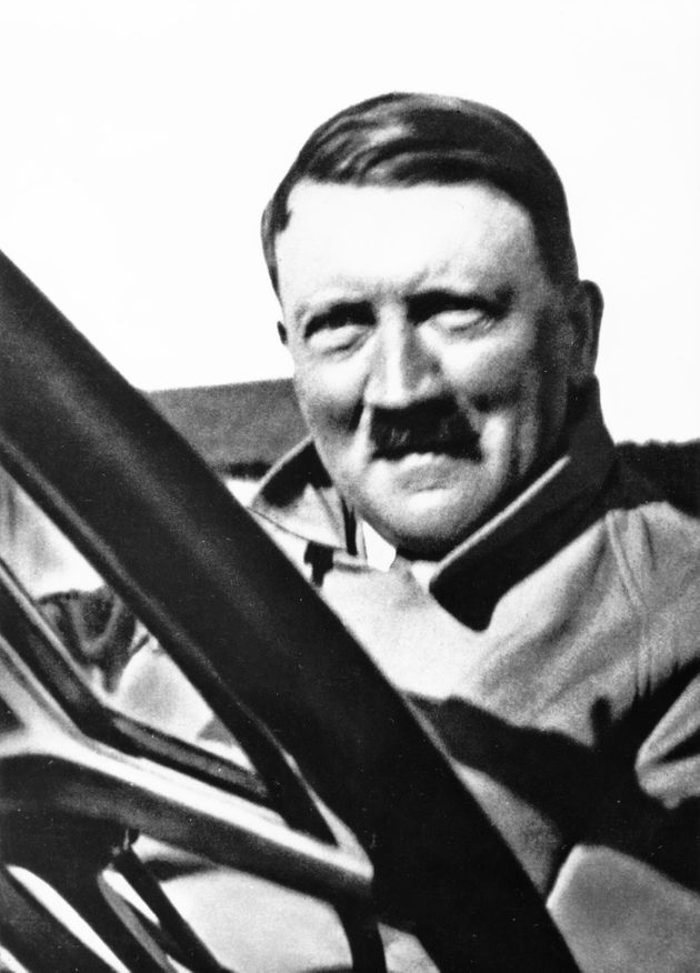 Adolf Hitler pictured in Germany in