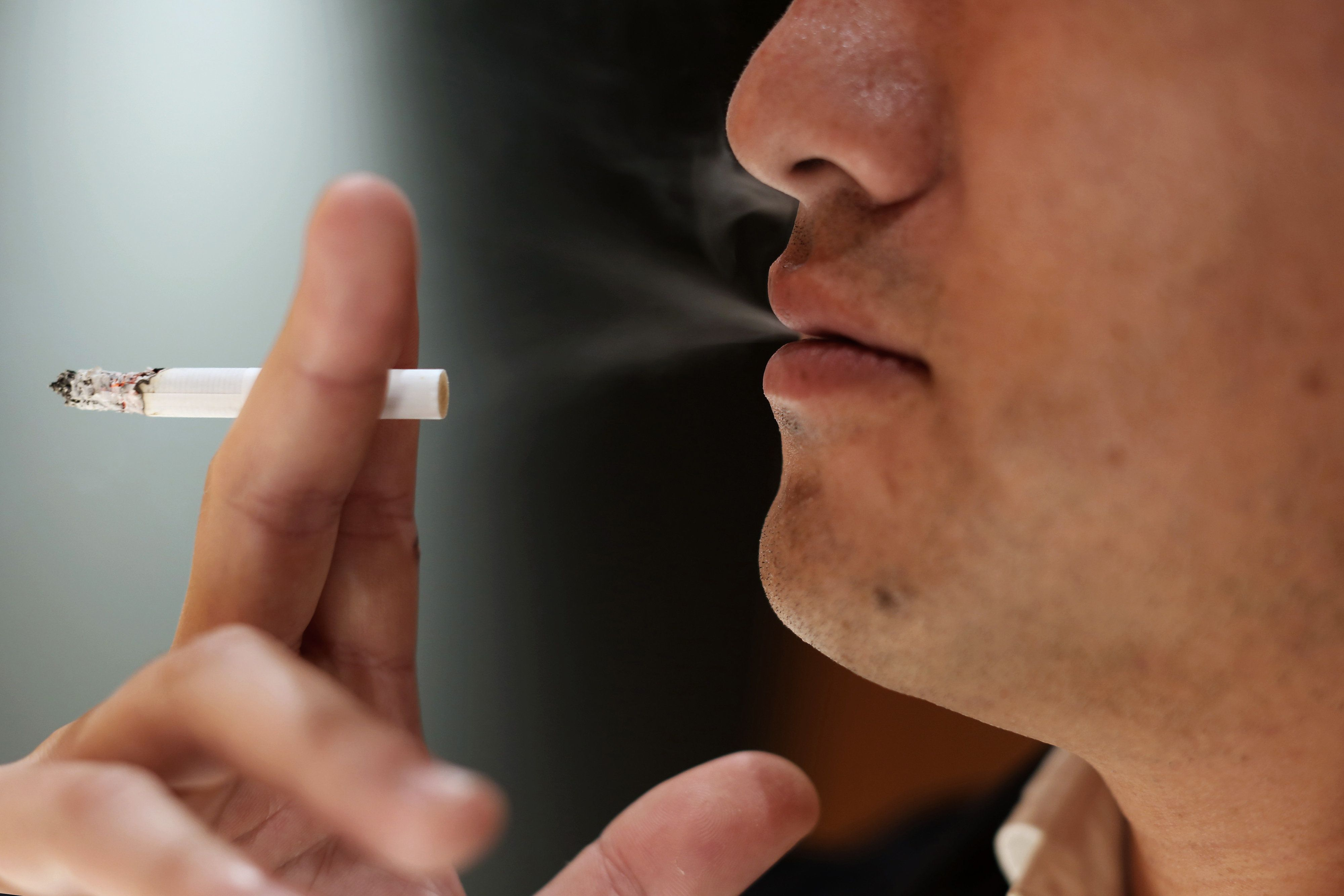 An estimated 18 percent of Japanese adults smoke, according to the World Health