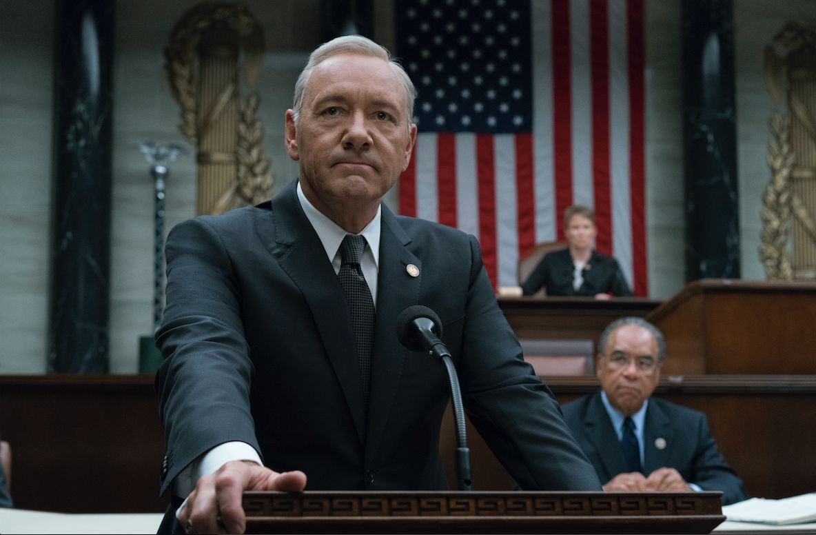 Netflix Shuts Down The Set Of Final 'House Of Cards'