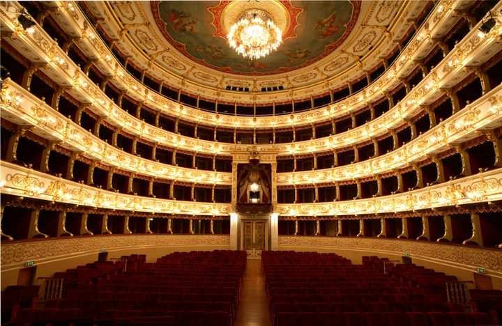 Parma's Teatro Regio, home of the annual Verdi Festival