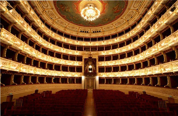 <p>Parma's Teatro Regio, home of the annual Verdi Festival</p>